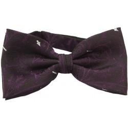 Purple kuviolliset rusetti