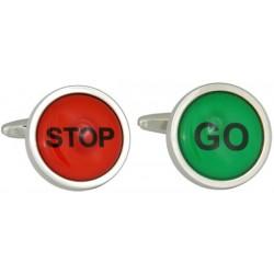 Dalaco kalvosinnappeja - Stop / Go