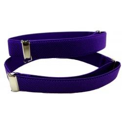 1 pari violetti paita käsivarsi bändejä