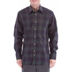 Ruudullinen paita, jossa villan
