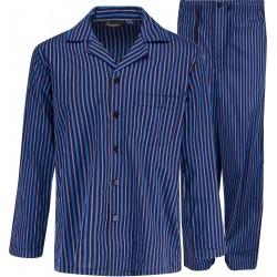 Sininen raidallisessa pyjamassa