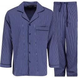 Ambassador pyjama - Sininen / Valkoinen