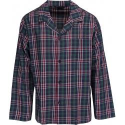Schiesser pyjamat miehille - Ruudulliset Vihreä