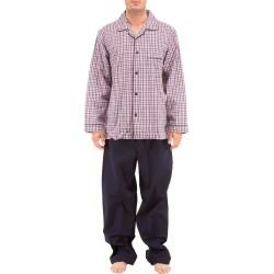 Ruudullinen popliini pyjamat