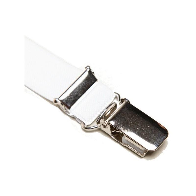 Valkoinen ohut nickelfree braces housuihin. 18 mm leveä c3c0c04df0