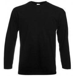 Musta pitkähihainen t-paita