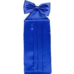 Koboltti Sininen cummerbund