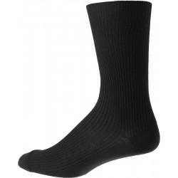 Miesten sukat ilman kuminauhavyötärö - Musta