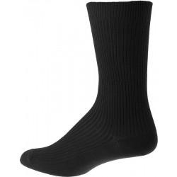 Miesten sukat ilman elastinen - Musta