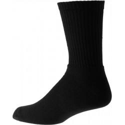 Paksu musta miesten sukat puuvilla