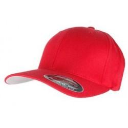 Rød Flexfit Cap
